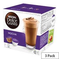 Nescafe Dolce Gusto Mocha Capsules Pack of 48 12184860