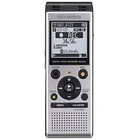 "Olympus WS-852 Digital Voice Recorder Silver With Low-Noise Directional Stereo Microphones. Includes ""Auto Mode"" To Automatically Adjust Recording Level For an Even Sound quality. Ideal For Offices, Meeting Rooms, Conferences &More."