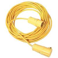 Cable Lead Set 14 Metre 16 Amp 110V 1.5mm Yellow 349793