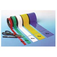 Magnetic Easy-Wipe Strip Width:90mm Length:10M Red