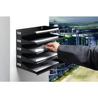 Sorter Rack 5 Trays  Black