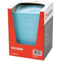Wurth Cleaning Cloth Tex-Rein - CLNCLTH-(TEX-REIN)-27X38CM-150PCS Ref. 0899810 PACK OF 4