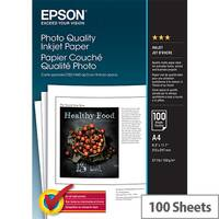 Epson Photo Quality Ink Jet Paper - Matte - coated - pure white - A4 (210 x 297 mm) - 102 g/m² - 100 sheet(s) paper - for EcoTank ET-16500; Expression Home XP-235; Expression Premium XP-540, 900