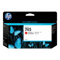 HP 745 - 130 ml - chromatic red - original - DesignJet - ink cartridge - for DesignJet Z2600 PostScript, Z5600 PostScript