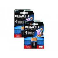 Duracell Ultra Power - Battery 9V Alkaline (pack of 2)
