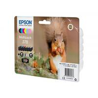 Epson 378 Multipack - 6-pack - black, yellow, cyan, magenta, light magenta, light cyan - original - blister with RF/acoustic alarm - ink cartridge - for Expression Photo XP-8500 Small-in-One