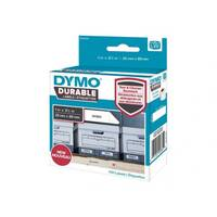 DYMO LabelWriter DURABLE - Adhesive - white - 89 x 25 mm 100 label(s) (1 roll(s) x 100) labels