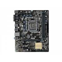 ASUS H110M-K - Motherboard - micro ATX - LGA1151 Socket - H110 - USB 3.0 - Gigabit LAN - onboard graphics (CPU required) - HD Audio (8-channel)