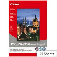 Canon Photo Paper Plus SG-201 - Semi-glossy satin - 101.6 x 152.4 mm - 260 g/m² - 50 sheet(s) photo paper - for PIXMA iP3680, iP4820, iP4850, MG8250, MP198, MP228, MP245, MP252, MP258, MP476; S450