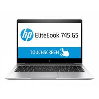 HP EliteBook 745 G5 - Ryzen 7 2700U / 2.2 GHz - Win 10 Pro 64-bit - 8 GB RAM - 256 GB SSD NVMe, HP Value - 14&uot; IPS 1920 x 1080 (Full HD) - AMD Radeon Vega - Wi-Fi, Bluetooth