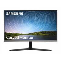 Samsung C27R500FHU - CR50 Series - LED monitor - curved - 27&uot; (26.9&uot; viewable) - 1920 x 1080 Full HD (1080p) - VA - 300 cd/m&up2; - 3000:1 - 4 ms - HDMI, VGA - dark grey/blue