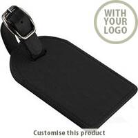 Hampton Leather Large Bag Tag 166879 - Customise With Your Logo or Text