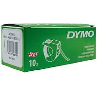 Dymo Embossing Tape 9mm x3 Metres Red Pack of 10 S0898150
