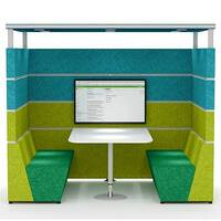 HIVE Rectangular Meeting Pod With Canopy