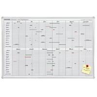 Franken Operational Personal and Appointment Organiser 900 x 600mm Day Grid 4 x 10mm JetKalender JK710