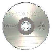 Q-Connect DVD-R Slim Jewel Case 4.7GB Pack of 1