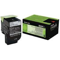 Lexmark Black Rp Toner Cartridge 80C20K0 Pk1