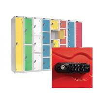 Lockers With Combination Lock