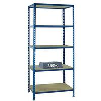 Medium Duty Bays Shelf Size 1200x400mm Blue 379625