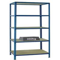 Medium Duty Bays Shelf Size 900x400mm Blue 379623