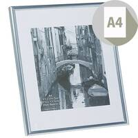 Photo Album Company Certificate Frame A4 Back Loader Silver A4MARSIL-NG