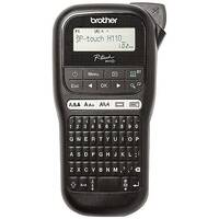 Brother PT-H110 P-Touch Handheld Labelmaker - Easy-type keyboard and graphic LCD - Create durable labels up to 12mm in width - High speed printing - up to 20mm/second - takes TZe Brother tapes