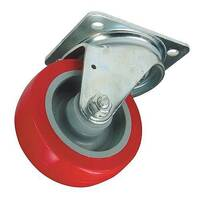 Polyurethane Tyred Wheel, Medium Duty - Swivel Load Capacity 250
