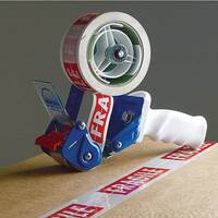 Metal Dispenser With Safety Guard And Brake For Tape Up To 50mm Wide