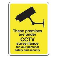 These Premises Are Under Cctv Surveillance Hxw 75X100Mm