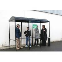 Domed Smoking Shelter HxWxL 2420x2112x2112mm