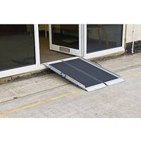 Lightweight Folding Aluminium Ramp L 600mm