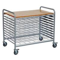 Drying Trolley With 10 Levels No Of Shelves 11